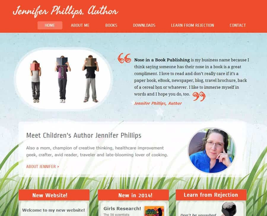 Jennifer Phillips Author