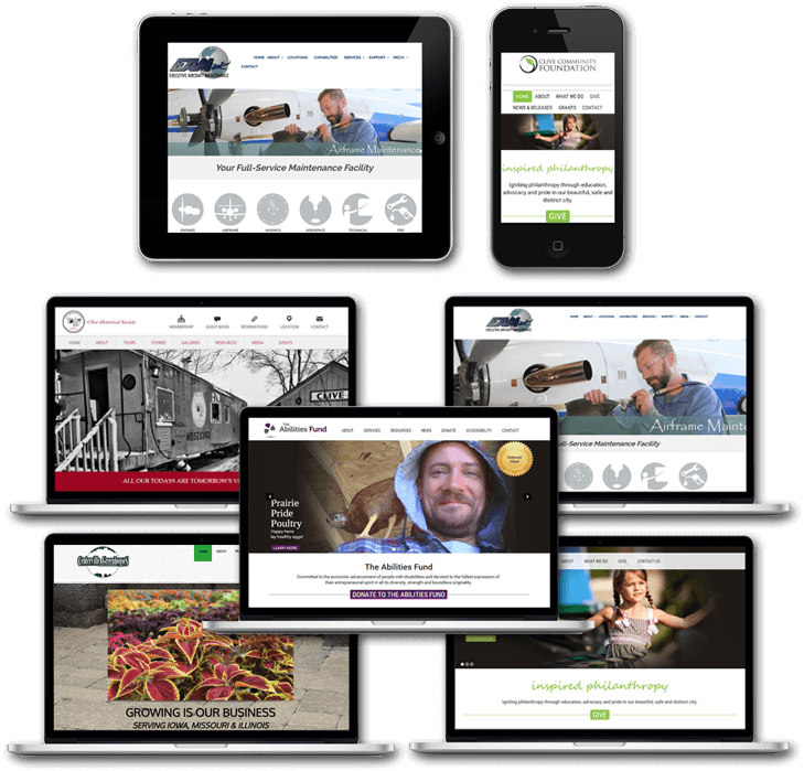 MBS Communications - Responsive WordPress Design