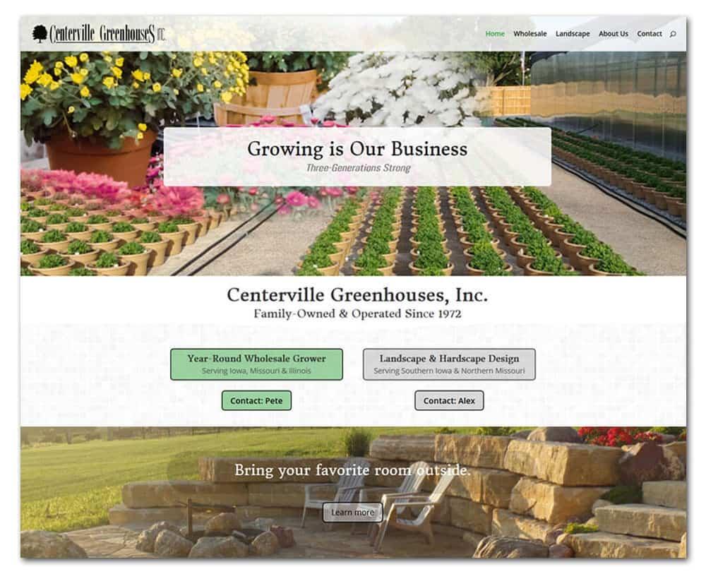 Centerville Greenhouses & Nursery - Centerville, Iowa